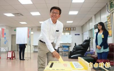 立委補選投票 郭國文:捍衛民主這一戰責任重大