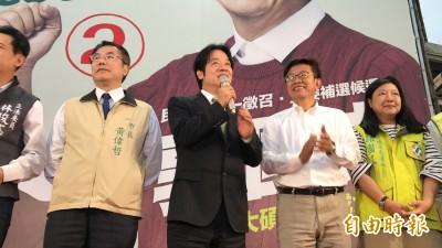 賴清德擋住「韓流」!國民黨無法突破台南防線