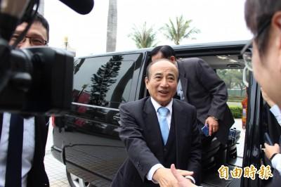 賴清德領表選總統 王金平淡定回3字