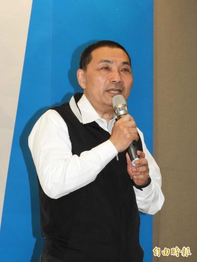 賴清德登記總統初選 侯友宜:願為台灣做事給予祝福