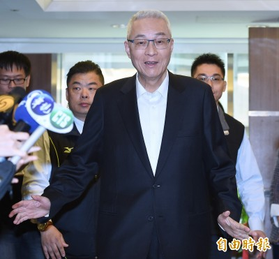 賴清德參選總統 吳敦義:不驚訝