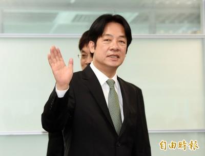 賴清德讚韓國瑜:百年難得一見的政治奇才