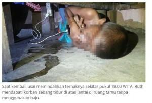 驚悚! 印尼男童邊玩手機邊充電 腹部被燒出1個洞慘死