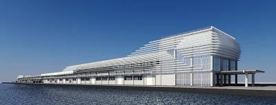 郵輪造型旅客中心11月完成  議員:人如何留在基隆消費