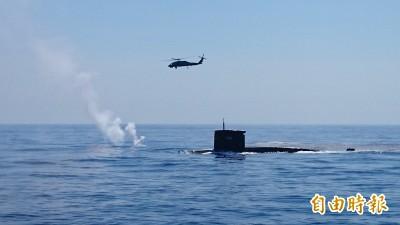 嚴防潛艦案生變 軍方:潛艦主次系統裝備各有3廠商提輸出許可