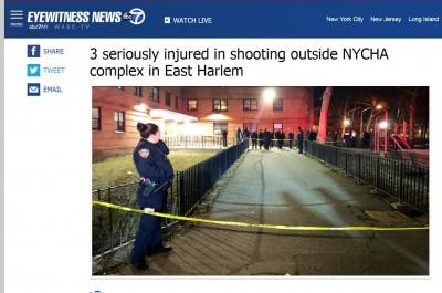 紐約曼哈頓驚傳槍響 3人背、腿中彈急送醫