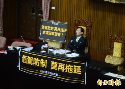 黃國昌罵酒駕修法打假球 蔡其昌:立院合議制不是大聲就贏
