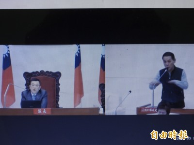 新竹市議會全面藍化 正副議長飆國罵、嗆議員直播放送