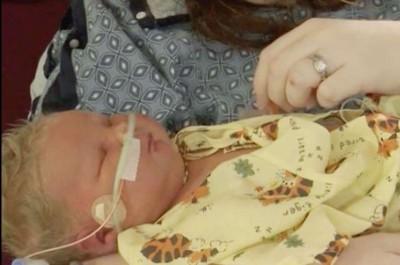 7公斤巨嬰誕生! 產婦:分娩像被兩輛拖拉機輾過