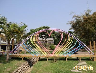 揪感心!里長霸氣提供700坪地打造「蜻定橫山」童玩公園