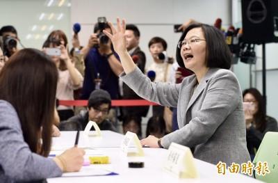 「台灣需要我」蔡總統登記黨內初選拚連任