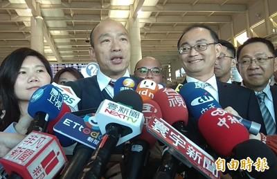 韓國瑜赴中國「朝聖」 上任不到3個月2度出訪