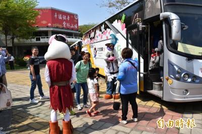 台灣好行雲林再升級 郵輪式觀光公車遊雲林