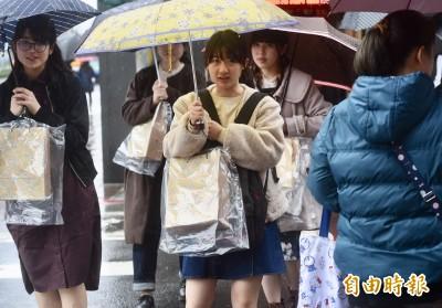 氣溫再降!週六北台灣白天下探16度 各地降雨機率提高