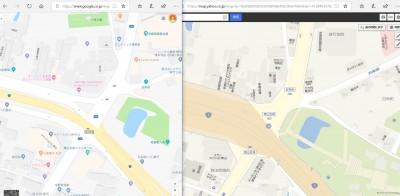 日本Google地圖被發現「劣化」 山路消失、鐵道穿過湖