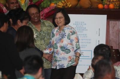 與帛琉總統早餐會 蔡英文:台帛邦誼更加永固