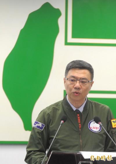 韓國瑜見中聯辦 卓榮泰:為一國兩制擦脂抹粉