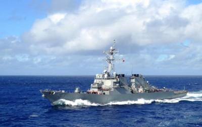 2美艦航行台海 國防部:全程掌握