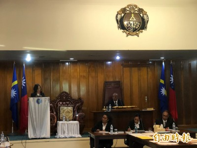 總統在諾魯國會演說:諾魯航空延飛台北助密切交流