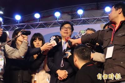 被韓國瑜酸主權不退讓是「廢話太多」 陳其邁怒了