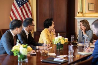 裴洛西:香港一國兩制情況急速轉差