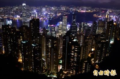 香港太平山頂觀景台 男子飛墜50公尺當場身亡