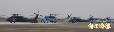 空軍撤回自購救護直升機案 5架空軍黑鷹強化夜間搜救能力