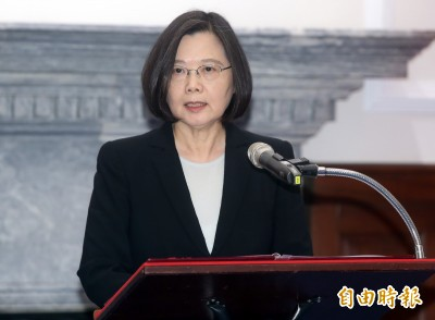 國土一寸不讓! 蔡總統提「三不」抗議中國軍機挑釁