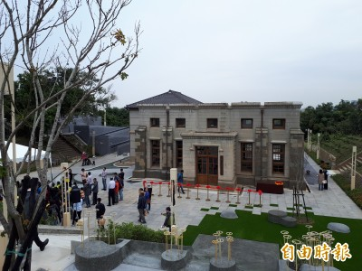 耗時4年多修復 新竹水道取水口古蹟開放