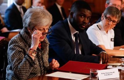 梅伊四連敗!「脫歐協議」4選項 英國會全數否決