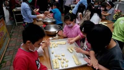 手作幸福米餅乾 竹門國小傳承米食文化