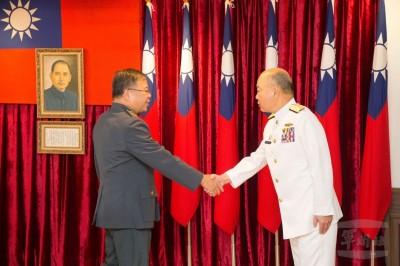 副參謀總長、國防部常次  陳曉明、蕭維民接任