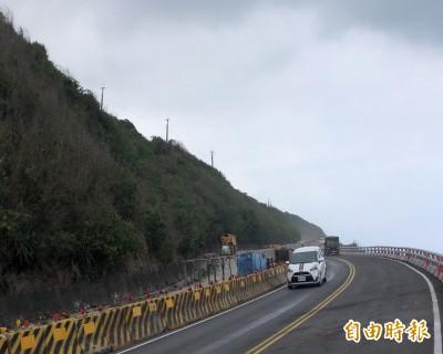 南迴431K施工管制路段 清明連假開放雙向通行