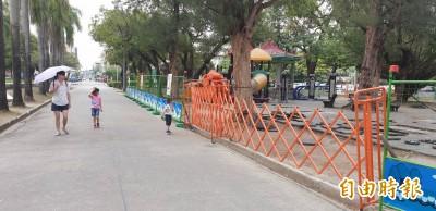 兒童節不能玩!屏東公園整修 蔥寶小火車沒開放…