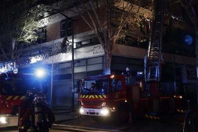 驚天一響! 巴黎第19區建築爆炸 火勢蔓延26公寓