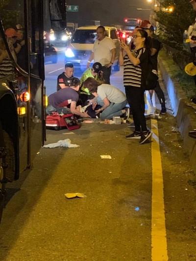 白沙屯媽祖進香 1香客被車撞及、4體力不繼
