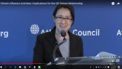 蕭美琴赴美智庫演講:更加專制和激進的中國 正在威脅民主