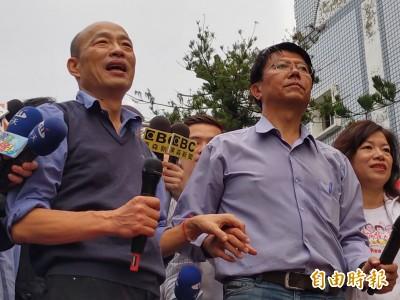 韓國瑜訪美後即發起黨代表連署  謝龍介:讓他師出有名