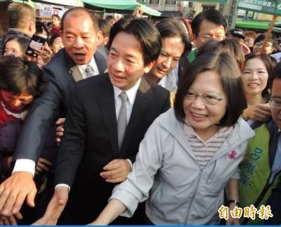 蔡賴會 民進黨協調小組:全程未提「現任優先」