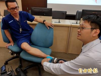 醫病》職能治療師瘋全馬 「操過頭」足底筋膜炎上身