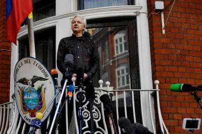 維基解密創辦人傳遭美監控 恐逐出厄國駐英使館