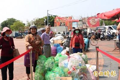 媽祖遶境台灣乾淨 雲縣環保局:做回收換好物