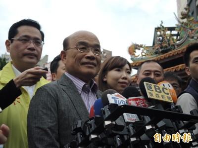 想來台灣宣揚武力統一 蘇貞昌:嚴以禁止、立刻驅逐