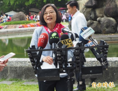 談黨內初選  蔡英文:同舟共濟才能集結護台灣的力量