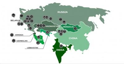 承認台灣獨立!俄羅斯軍事比賽 中國地圖沒有台灣