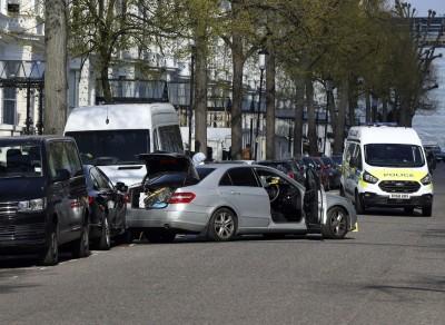 烏克蘭駐英國大使館遭衝撞 暫不視為恐怖攻擊