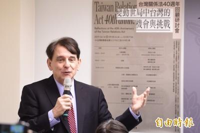 不樂見統一 司徒文籲美表達「除非中國民主化且台灣人想統一」