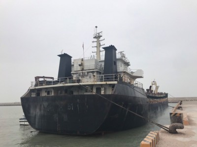 連江地檢署拍賣盜採海砂的中國抽砂船 4819萬拍出