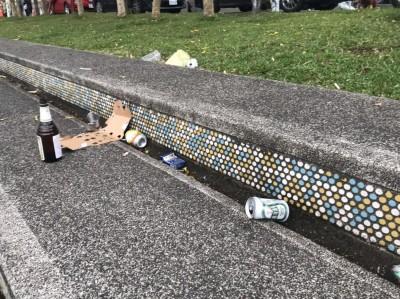 遊客暴增卻淪壞榜樣! 礁溪國小怒:大人請將垃圾帶走