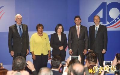 美國大咖萊恩盛讚台灣領袖風範 「希望其他地方能更像台灣!」